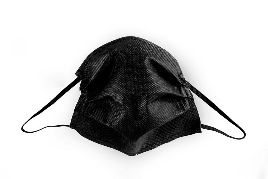 Mascherina di Protezione Individuale TNT colorato nero